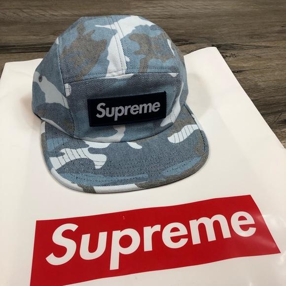 Supreme Blue Camo Hat